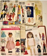 Doll Clothes Patterns Lot - $22.22