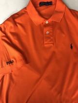 Polo Ralph Lauren Polo Shirt Short Sleeve Orange 100% Cotton Large L Mint! - $12.16