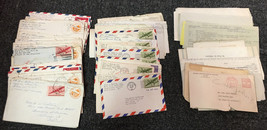 Large Lot of 50 World War II Letters Home From Husband 1st Marine Divisi... - $499.99