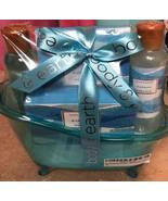 Body & Earth Blue Ocean Scent 5 Pc Bath Gift Set New - $28.00