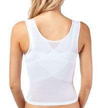 NEW WOMEN'S PREMIUM SUPPORT SHAPEWEAR WAIST SLIMMING CORSET WHITE #7713 image 2