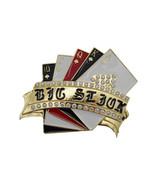 Hombre Mujer Metal Dorado Casino Tarjetas Stbelt Hebilla Luck Charm Roya... - $24.47