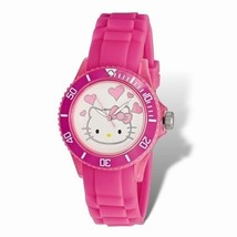 OFFICIALLY LICENSED HELLO KITTY WHITE DIAL PINK... - $87.45