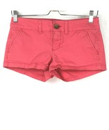 American Eagle Outfitters Pink Shorts Women Size 0 - $19.79