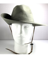 RedHead Mens Green Bucket Hat Side Snap Chin Cord Size Small - $39.55