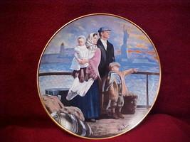 Franklin Mint The Ellis Island Plate 1991 - $9.60