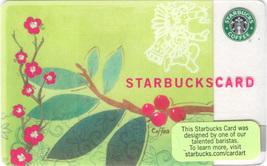 Starbucks 2007 Coffea Arabica Collectible Gift Card New No Value - $8.99