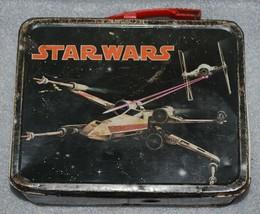 Vtg Original 1977 Star Wars Lunchbox No Thermos - $79.46