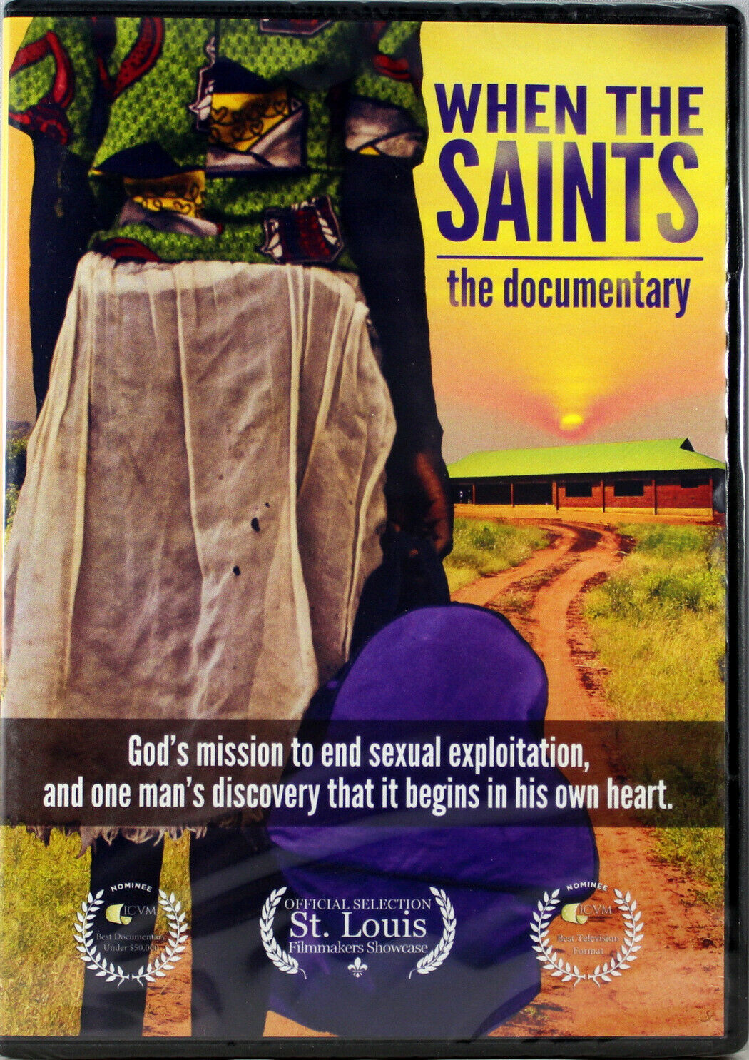 Primary image for When The Saints The Documentary NEW DVD God's Mission End Sexual Exploitation