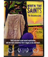 When The Saints The Documentary NEW DVD God's Mission End Sexual Exploitation - $11.45