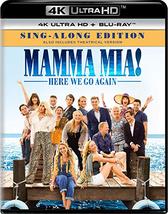 Mamma Mia! Here We Go Again [4K Ultra HD + Blu-ray]