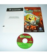 Spongebob Creature Krusty Krab - Nintendo GameCube -Disc/Manual- - $13.74
