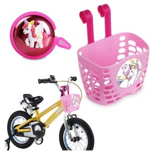 Mini-Ory 2 In 1 Bell + Basket - Pink Bicycle Handlebar Bell Cute 3D Un - $37.99