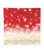 8x8ft Gold Red Glitter Bokeh Photography Backdrop Christmas Shiny Sparkl... - $90.99+
