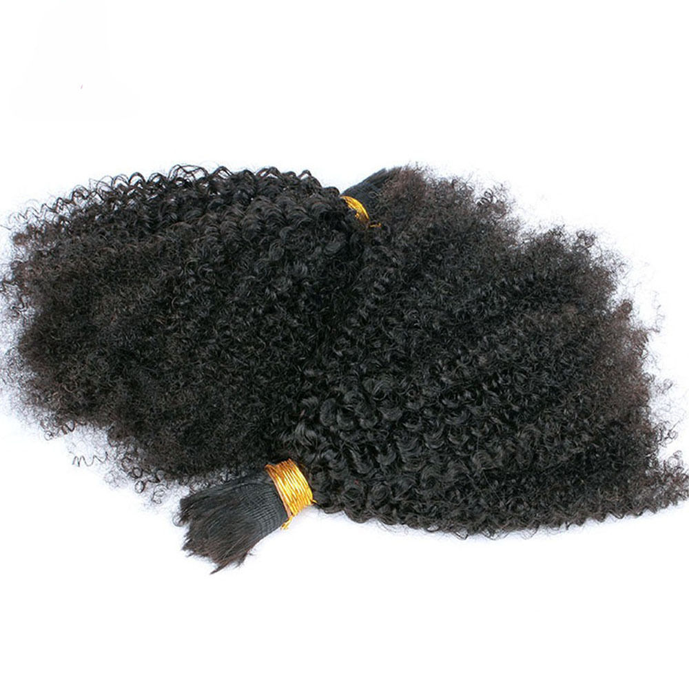 Afro Kinky Curly Brazilian Human Hair Bulk And 18 Similar Items