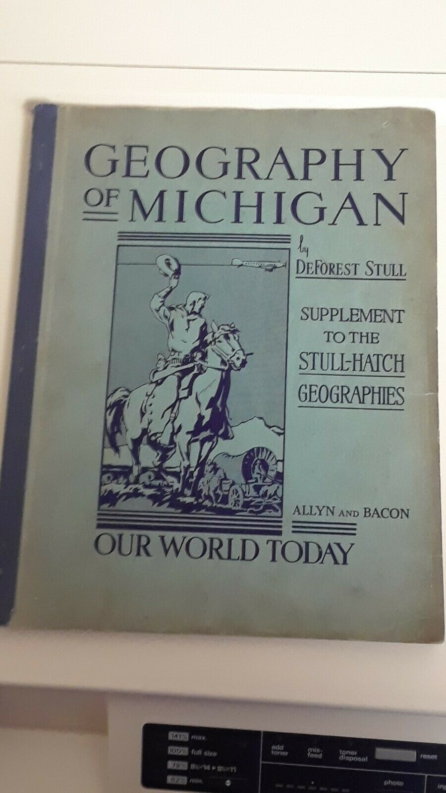 Primary image for Geography of Michigan  DeForest Stull Stull-Hatch Genealogy Research History