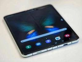 Samsung Galaxy Fold SM-F907N 5G/4G LTE Foldable Phone Unlocked 512GB CosmoBlack image 6