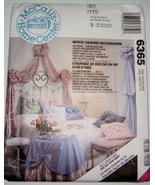 McCalls Home Center Decorator Rings, Canopy, Table Skirt, Window Treatme... - $10.78