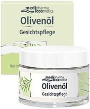 Medipharma Cosmetics Olivenol Olive Oil Facial Cream   Best Moisturizing Skin Tr