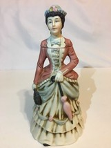 "1972 NAAC Avon Clubs Figurine Decanter Bottle # 2174 Lady Umbrella 7.75""... - $19.79"