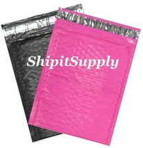 2-500 #0 6x10 Poly ( Black & Pink ) Color Bubble Padded Mailers Fast Shi... - $3.49+