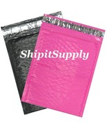 2-500 #0 6.5x10 Poly ( Black & Pink ) Combo Col... - $3.46 - $98.99