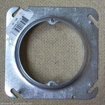 Steel City 401-CC 4in Round Box Ring Raised 3.5cu in - $5.65