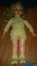 VINTAGE HORSMAN  HORSMAN DOLLS BLOND VINTAGE PUCKERED LIPS - $10.40