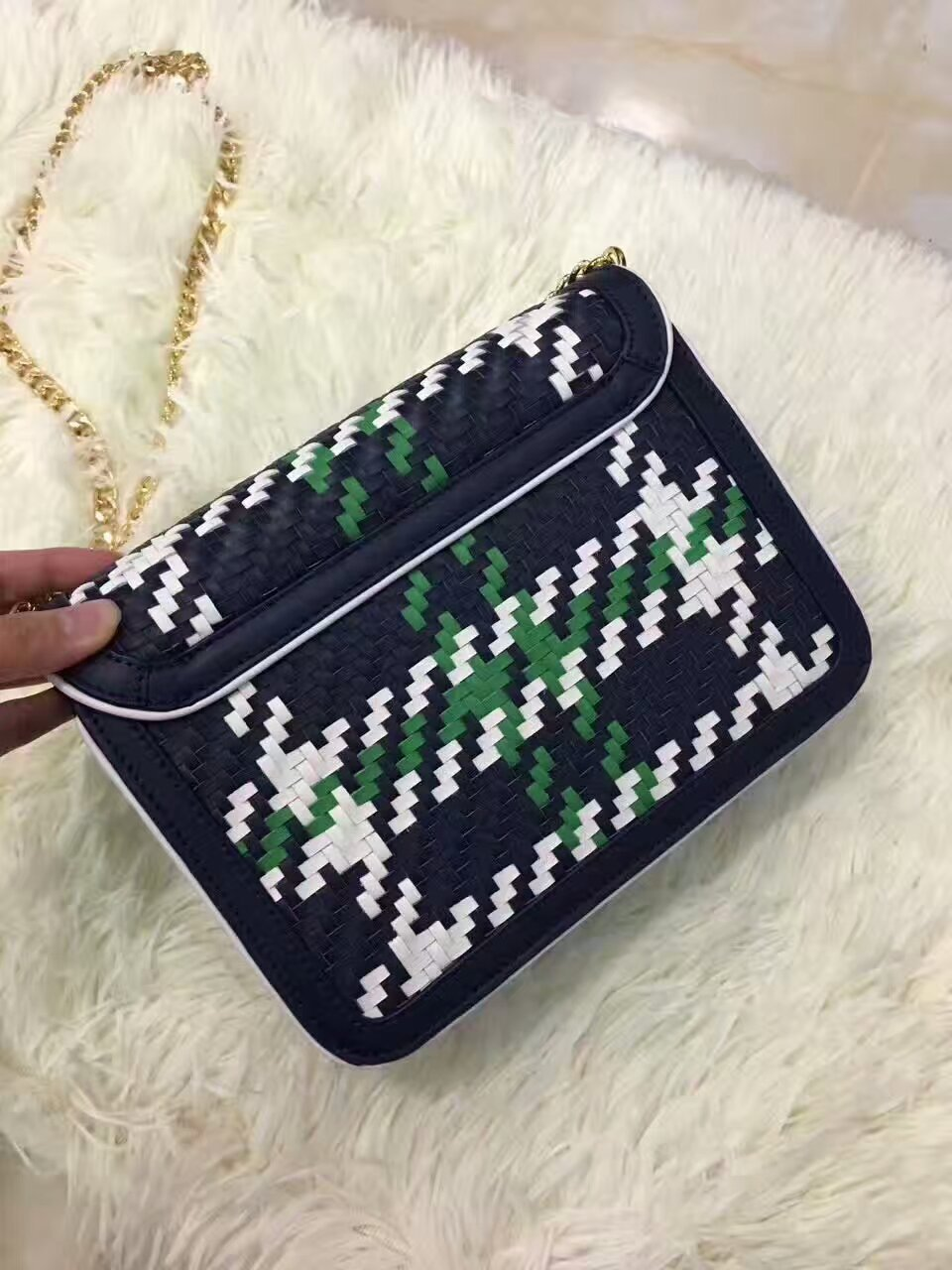37586282769 New Tory Burch Duet Chain Woven Convertible and 36 similar items