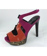Jessica Simpson Bendie Femmes Sandales Semelle Compensée Haut Multicolor... - $23.04