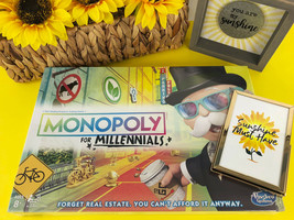 Monopoly for Millennials Board Game BRAND NEW Factory SEALED by Hasbro H... - $45.80