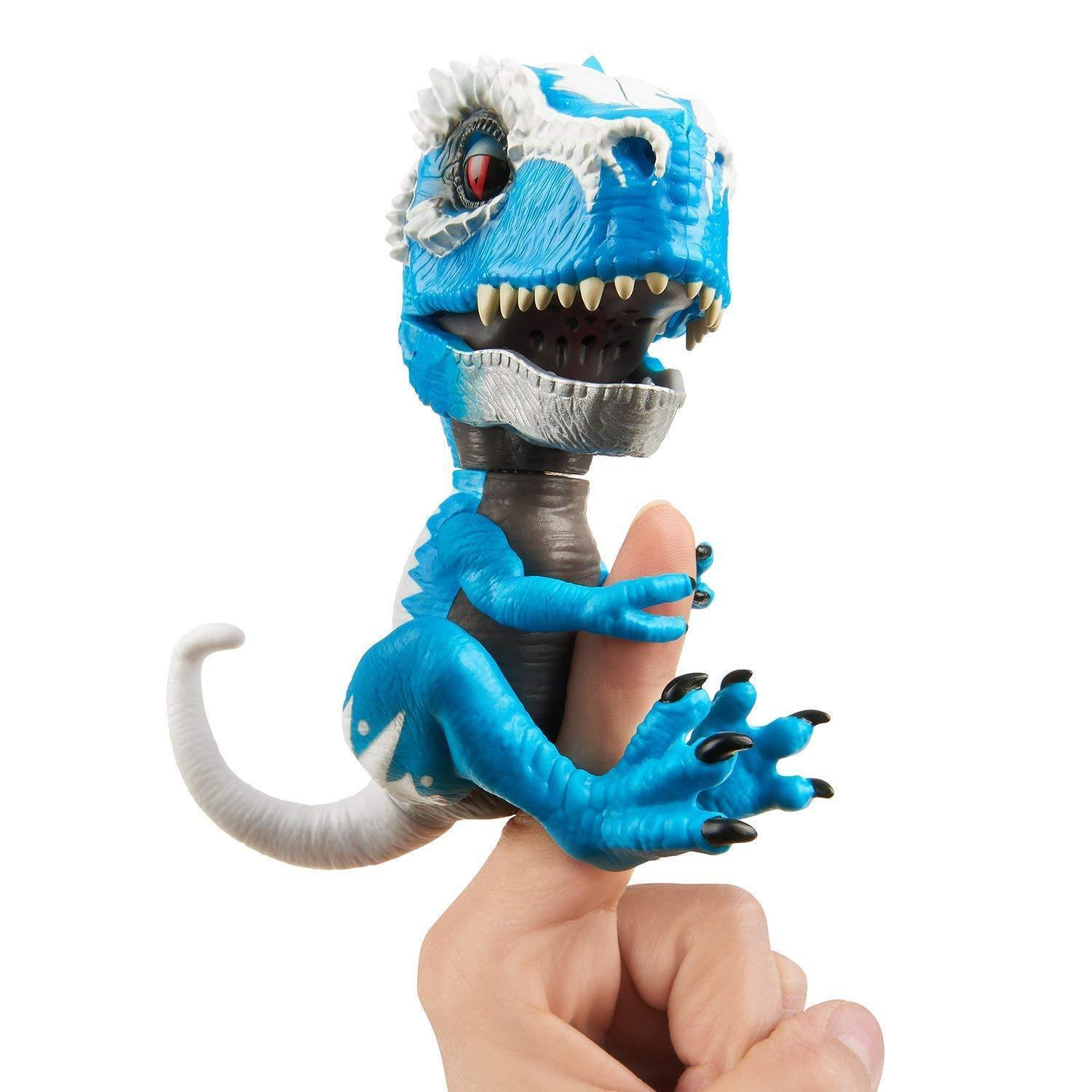 Wowwee Untamed T-Rex Dinosaur Fingerlings Interactive Collectible Sound Move Toy