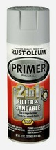 Rust-Oleum Primer 2-IN-1 Filler & Sandable Automotive Matte Gray Smooth 260510 - $15.99