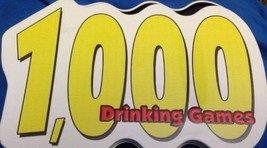 NEW 1000 DRINKING GAMES -Adult Bachelor Party Fun Gag Gift Game - $40.91