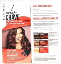 2 Clairol Color Crave Candy Apple Bold Semi Perm Dye Brown Blonde Bleach... - $17.99