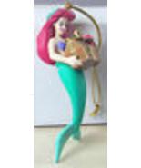 Disney Christmas Ornament Little Mermaid Ariel with Treasure Chest + Box - $14.50