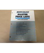 1995 Quicksilver Marino Master Prezzo Lists US Edizione 90-74990-96 OEM ... - $14.92