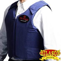 Xx Lrg Equestrian Horse Riding Vest Safety Protective Hilason Dark Denim U--XXL - $111.96