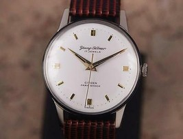 Citizen Young Homer 1960s Manual 34mm Vintage Men's Made in Japan Watch ... - $650.28