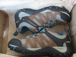 BNIB Merrell Accentor Hiking Shoes, Women, Size 6, Kangaroo/Celestial - $79.20