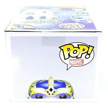 "Funko Pop! Marvel Thanos 6"" Entertainment Earth Glow in Dark Exclusive Figure image 6"