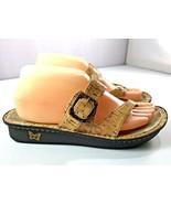 Alegria Women's Valentina Sandal Cork Thong Shoes Size 8.5 - $64.95