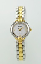 Regency Women's Gold Silver MOP Dial WR SS Round Quartz Casual Battery W... - £20.08 GBP