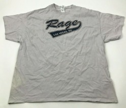 VINTAGE Rage Las Vegas Shirt Size 2XL XXL Purple Tee Short Sleeve Adult ... - $14.03