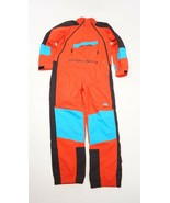 THE NORTH FACE RETRO 90s Cultural Shock Extreme Wind Ski Suit Fiery Red ... - $169.99