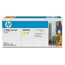 HP Q6002A Toner Cartridge - Yellow - $149.97