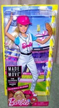 Barbie Made to Move Baseball Player Barbie Doll New Ultimate Posable Bar... - $24.88