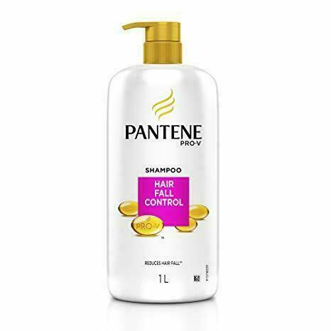 Pantene Hair Fall Control Shampoo, 1L,Target Audience: Men & Women, free ship