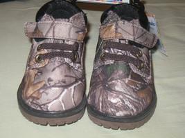 SZ 4 REALTREE XTRA GARANIMALS Infant Boys' Hiker Camo Hunter Boots NEW T... - £11.78 GBP