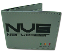 Sword Art Online: NVG Nervegear Bi-Fold Wallet *NEW* - $19.99
